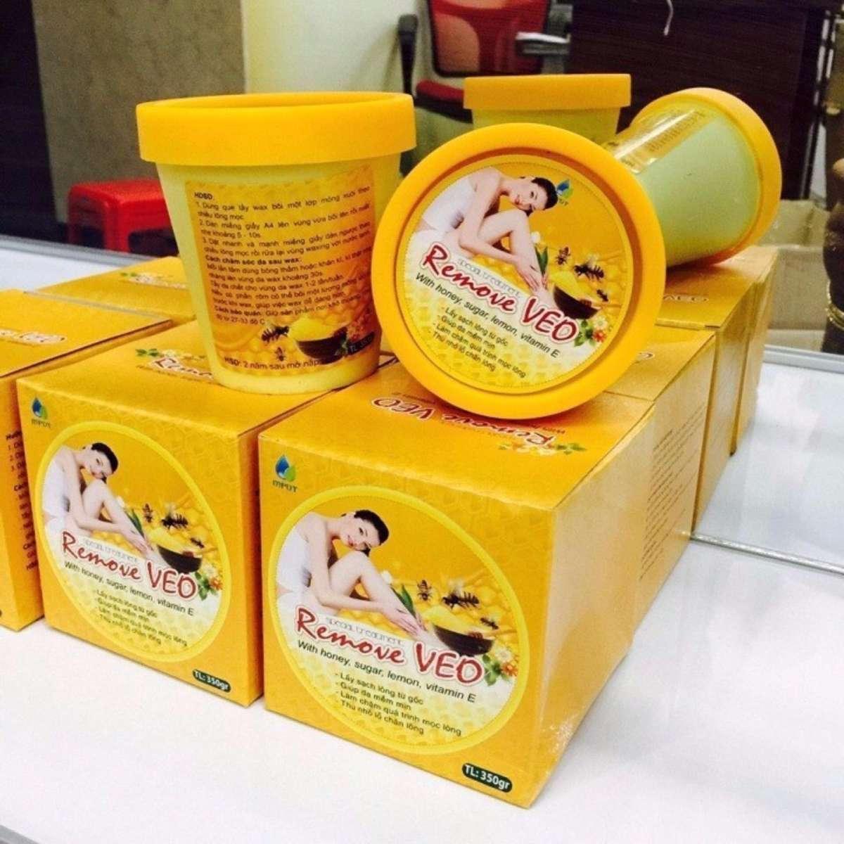 Kem Tẩy Lông - Veo Honey Wax - Tẩy Lông Triệt Để chính hãng