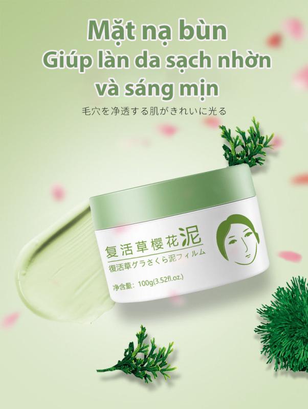 YY Mặt nạ dưỡng ẩm ngừa mụn làm sáng da chiết xuất từ cỏ phục sinh Face Mask Moisturizing 100ml giá rẻ
