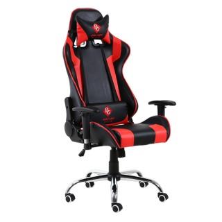GYM19 - Ghế gaming Model G1 RED cao cấp THÁI LAN chân xoay 360 độ, ngả 165 độ, tay điều chỉnh thumbnail