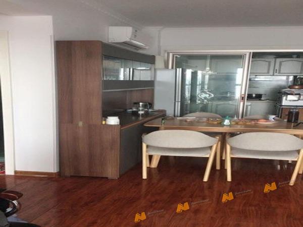 Giá bán Tủ gỗ An Nhiên hiện đại góc cạnh sắc nét phù hợp căn hộ xứng đáng đồng tiền bỏ ra Gỗ MDF loại cao cấp độ dày 17mm chất lượng gỗ vượt trội Mẫu mới hiện đại G385