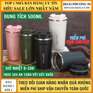 Ly giữ nhiệt coffee holic 500ml giữ nhiệt 8-10h inox 304 an toàn với sức khỏe, bình giữ nhiệt, bình nước giữ nhiệt, binh nuoc giu nhiet, cốc giữ nhiệt thumbnail