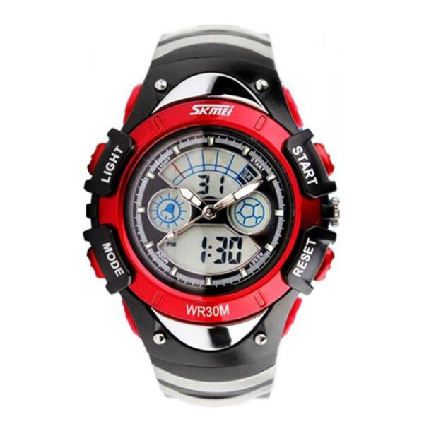 Đồng hồ thể thao trẻ em - đồng hồ bé trai dây cao su Skmei 0998 bán chạy
