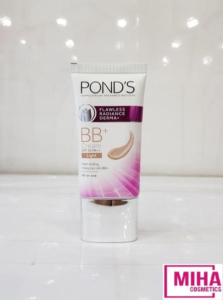 Kem Dưỡng Trắng Tạo Nền BB Cream Ponds Flawless Radiance Derma+ 25g