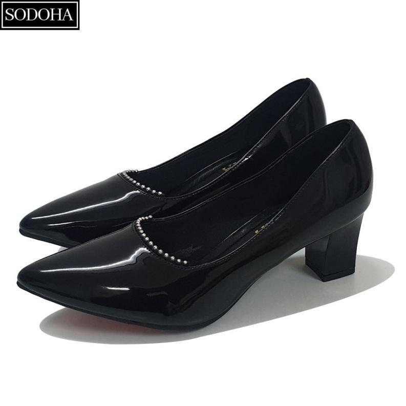 Giày nữ - Giày cao gót nữ Thời Trang SODOHA SDH1566DB giá rẻ