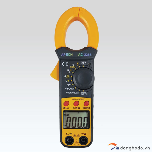 Ampe kìm đo AC APECH AC-2268 (600A)