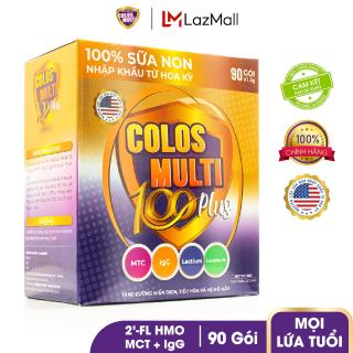 Sữa bột tăng sức đề kháng, phát triển thể chất Mama Sữa Non Colos Multi 100 Plus hộp 90 gói x 1,5g thumbnail