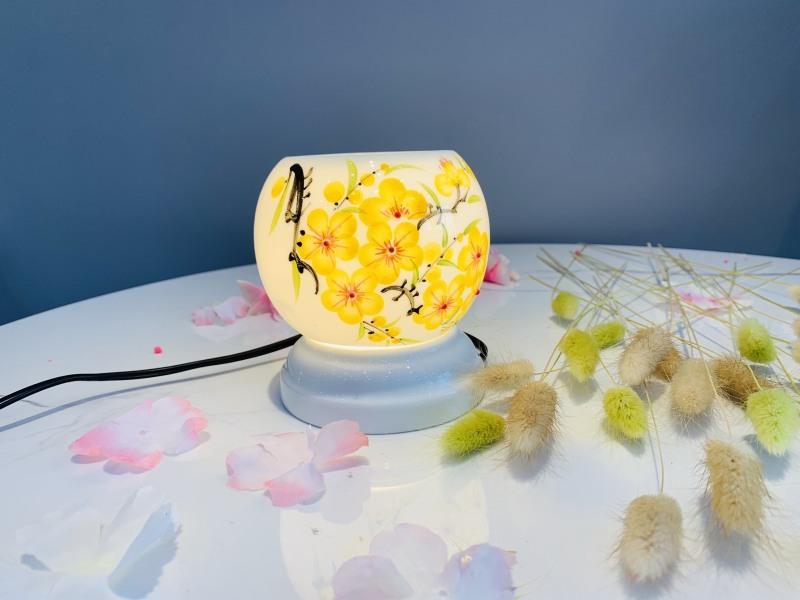 Đèn xông tinh dầu mini