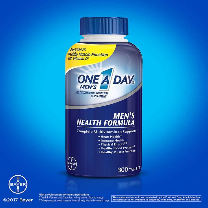 One A Day Vitamin Cho Nam Dưới 50 Tuổi 300 Viên