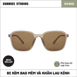 Kính mát Sunnies Studios Gọng Vuông Lazlo in Elm thumbnail