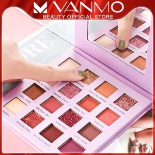 Bảng Phấn Mắt VANMO 16 Màu Nhũ Long Lanh Lâu Trôi Phong Cách Thời Trang Siêu HOT thumbnail