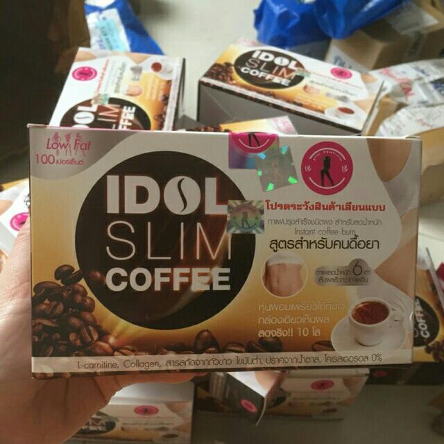 Cafe giảm cân Idol Slim chính hãng