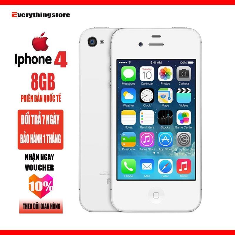 Điện thoại giá rẻ Apple IPHONE 4 - 8GB - Bảo hành 1T