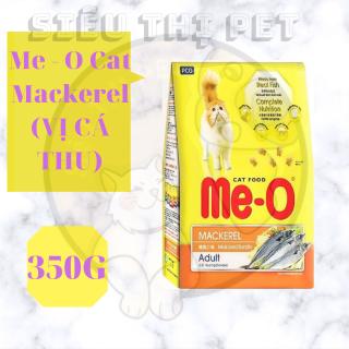 (DINH DƯỠNG) Me - O Mackerel - Thức ăn cho mèo vị cá thu 350g thumbnail