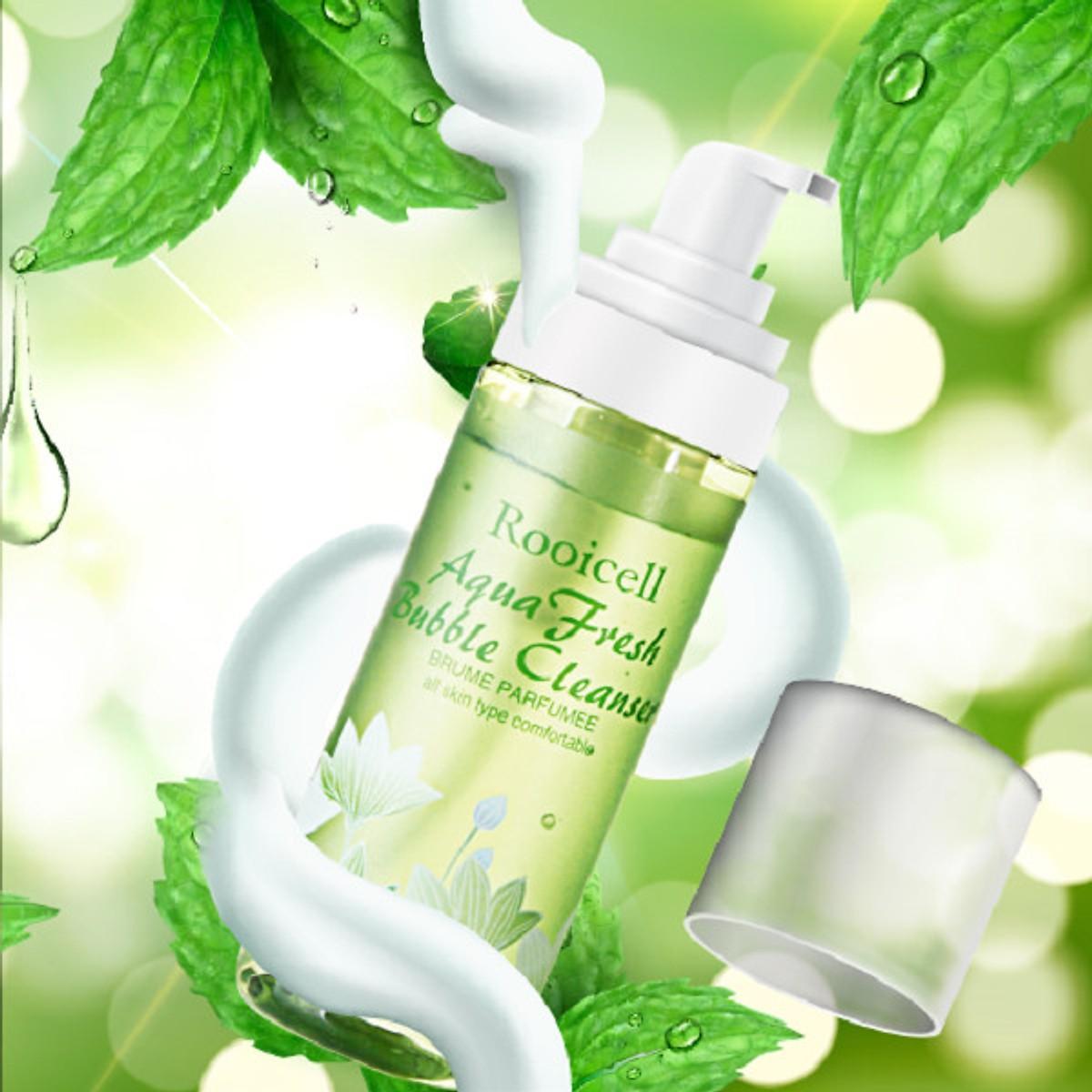 Sữa rửa mặt Rooicell Aqua Fresh Bubble Cleanser cao cấp