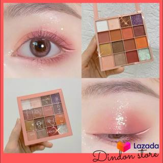 Màu mắt LAMELA EYE SHADOW 16 ô - Phấn Mắt 16 ô Màu Với 4 Tone Màu Make-up Hợp Mọi Phong Cách Thời Trang.- Phấn Mắt 16 Ô Màu Nhũ Lì TUTU KaQi Color Eyeshadow Palette [Others] thumbnail