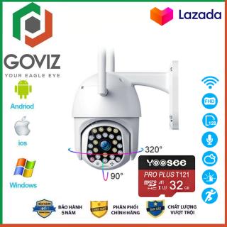 Camera Yoosee Goviz ngoài trời Xoay 360 Thế Hệ Mới Độ Phân giải 4.0Mpx 1920X1080P Với 24 LED Nhìn Đêm Rõ Nét (CÓ 2 MÃ GIÁ KÈM THẺ 635K VÀ KHÔNG THẺ 580K) thumbnail