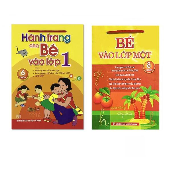 Combo Sách Chuẩn Bị Cho Bé Vào Lớp 1: Hành Trang Cho Bé Vào Lớp 1 (6 Cuốn) + Bé Vào Lớp 1 (8 Cuốn)