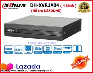 Đầu ghi Camera Dahua 4 Kênh XVR 1A04 hỗ trợ cam có mic. Chính hãng DSS giá rẻ VÔ ĐỊCH thumbnail