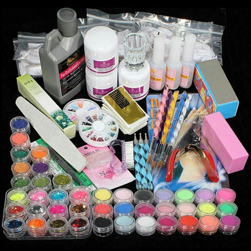 Bộ dụng cụ học nail 40 món nhập khẩu