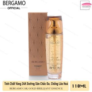 Tinh Chất Vàng dưỡng săn chắc da, nâng cơ chống lão hóa Bergamo 24k Gold Brilliant Essence 110ml thumbnail