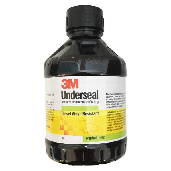 Sơn phủ gầm đen 3M Underseal 1L