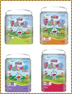 Tã Quần Goo.n Friend Gói Siêu Đại M68-L60-XL52-XXL46 thumbnail