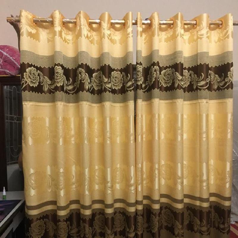 Rèm cửa cao cấp vải gấm 1 tấm kích nhiều kích thước