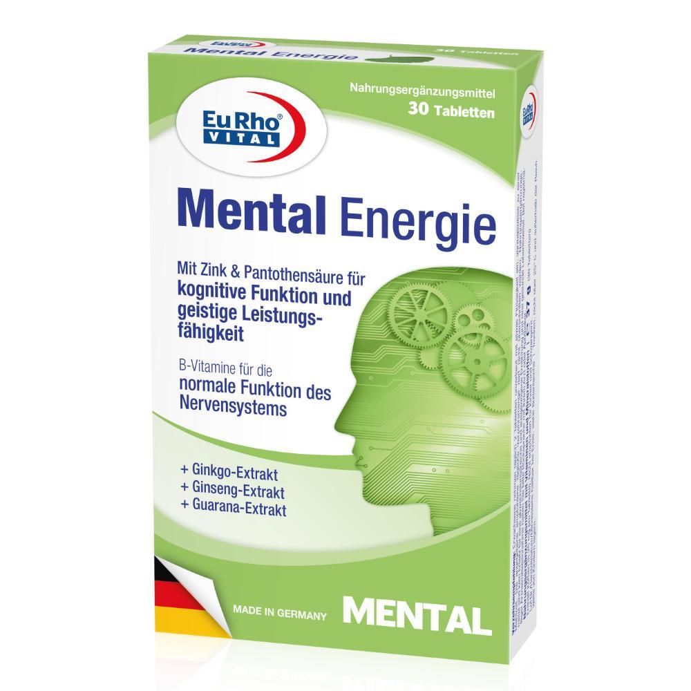 Thực phẩm chức năng giảm stress bổ não EuRho Vital Mental Energie