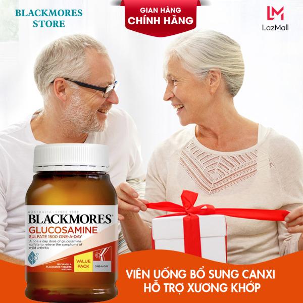 (Mẫu mới) - Viên uống Blackmores Glucosamine Sulfate 1500mg One-A-Day 150 viên - Glucosamin Giảm đau nhức xương khớp giá rẻ