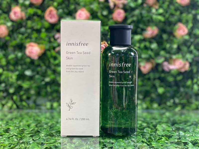Nước hoa hồng Innisfree Green Tea Seed Skin cao cấp