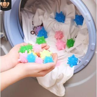 Set 10 quả cầu gai dùng cho máy giặt lồng ngang - có tác dụng chư bàn chải quần áo khi giặt - hình 4