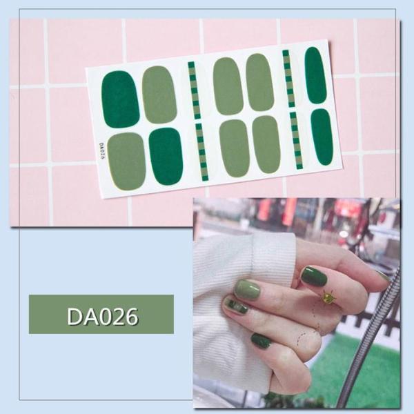 Miếng dán trang trí móng tay nghệ thuật mã DA021 - DA040