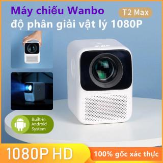 Máy chiếu mini bảo vệ mắt Xiaomi Wanbo T2 MAX, HD 1080P (Phiên bản quốc tế, Phiên bản kết nối WIFI) thumbnail