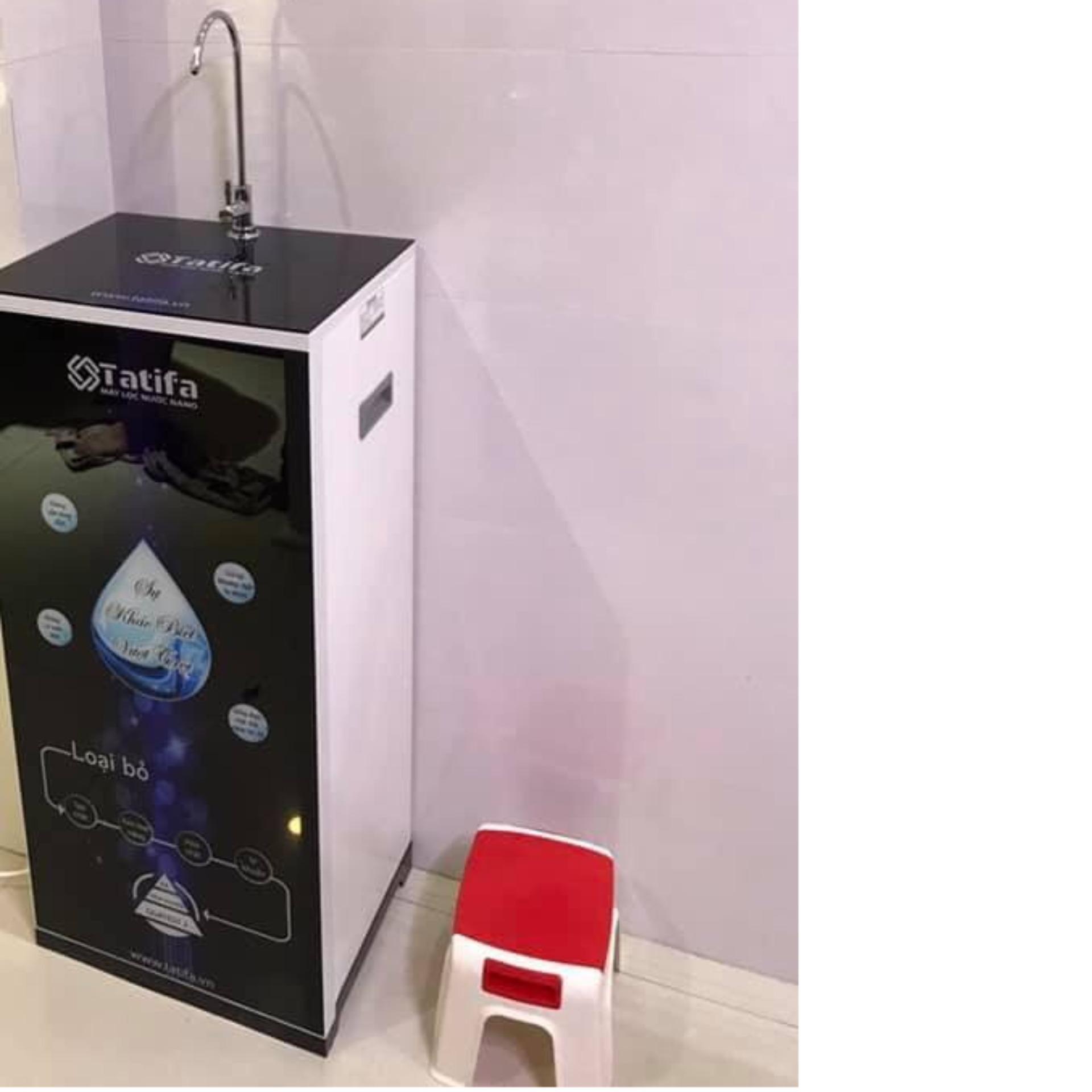 Máy lọc nước Nano Tatifa tủ kính tràn 4D 1 vòi nguội - MSP: TTF-9F.T1V