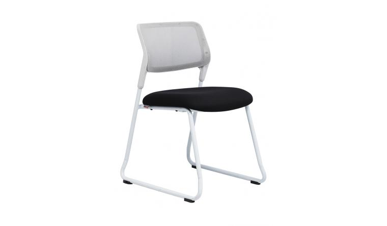 Ghế văn phòng - Chân quỳ  - vải lưng - Ghế nhân viên - Nội thất QĐ - 3017 giá rẻ