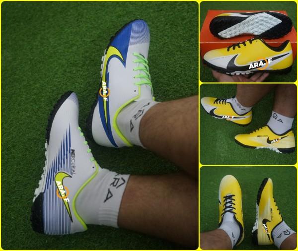 [Video 4 + Phiếu bảo hành] - Giày đá banh sân cỏ nhân tạo Mercurial Laser 4 - Giày đá bóng nam - May toàn bộ đế