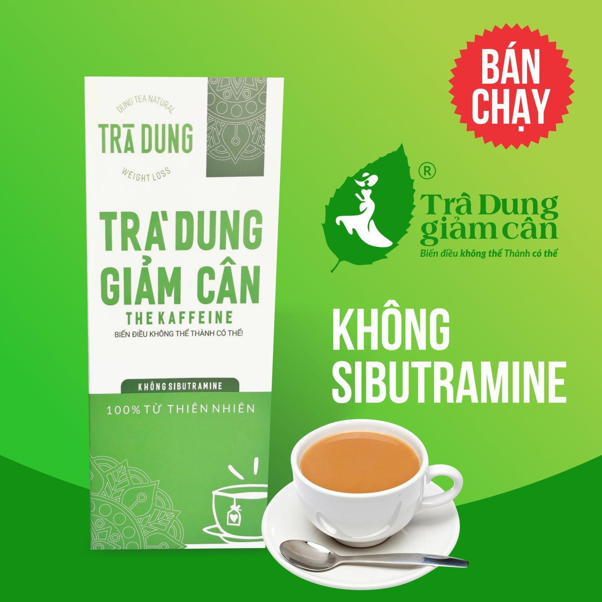 Trà dung Giảm cân The Kaffeine - Túi lọc 250g (Trà giảm cân)