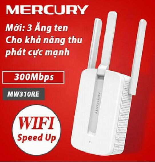 Giá [TẶNG MÃ GIẢM GIÁ 80K] Kích sóng wifi , thiết bị kích sóng wifi , kích wifi , thiết bị tăng sóng wifi , cục kích wifi , cục kích sóng wifi , thiết bị mở rộng sóng wifi Mercury 3 râu 310RE