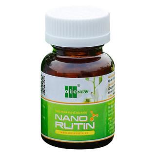 Nano Rutin - Hỗ trợ giảm các triệu chứng của trĩ, tăng cường sức bền thành mạch thumbnail