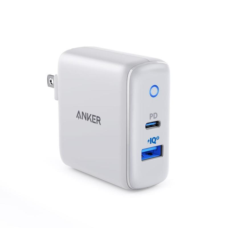 Sạc ANKER PowerPort PD+2 cổng 33w, 1 cổng USB-C 18w - A2626