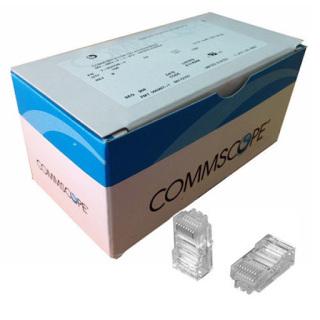 Đầu bấm mạng RJ45 cat5 Commscope , hạt mạng cat5 hộp 100 hạt thumbnail