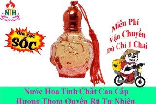 nước hoa tinh dầu mẫu lăn hoa hồng , thơm phòng , dùng trên người nhẹ dịu thơm lâu, hàng chuẩn thumbnail