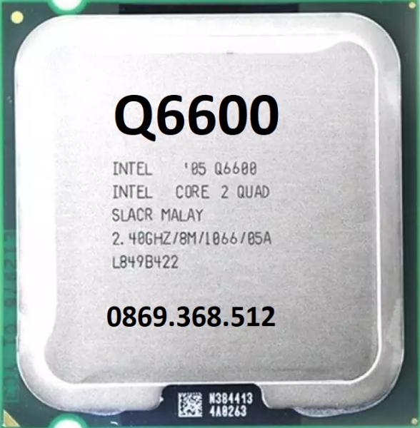 CPU Q6600 tặng kèm keo tản nhiệt lắp main g31 g41
