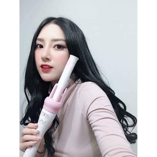 Máy uốn tóc xoăn xoay tự động 360 Vivid & Vogua (tặng kèm kẹp tóc siêu xinh), sản phẩm đa dạng về mẫu mã, kích cỡ, chất lượng tốt, inbox để được hỗ trợ tư vấn