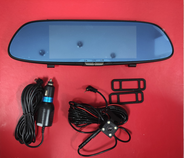 HCM-Camera hành trình,Camera hành trình cho xe ô tô, loại màn gương 7inch kèm camera lùi hồng ngoại TS01 ,tặng thẻ nhớ 32GB(bảo hành 12 tháng)