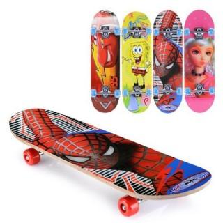 Ván trượt trẻ em Skateboard, ván trượt thể thao 4 bánh cho trẻ em thumbnail