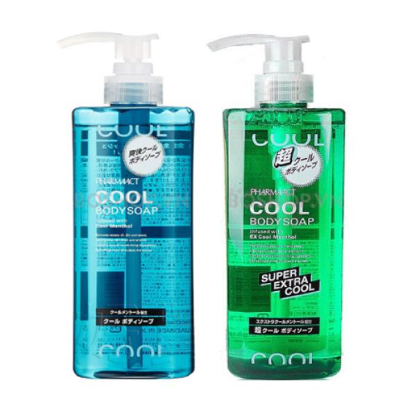 Sữa Tắm Cho Nam Pharmaact Cool Body Soap 600ml cho nam giới nhập khẩu