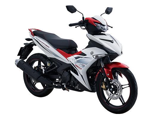 Xe Yamaha Exciter 150 RC 2019 _ Trắng Đỏ + Tặng nón bảo hiểm, áo mưa, móc khóa xe