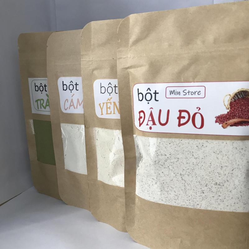 Combo Siêu Trắng Da Đậu Đỏ + Yến Mạch + Cám Gạo + Trà Xanh nhập khẩu