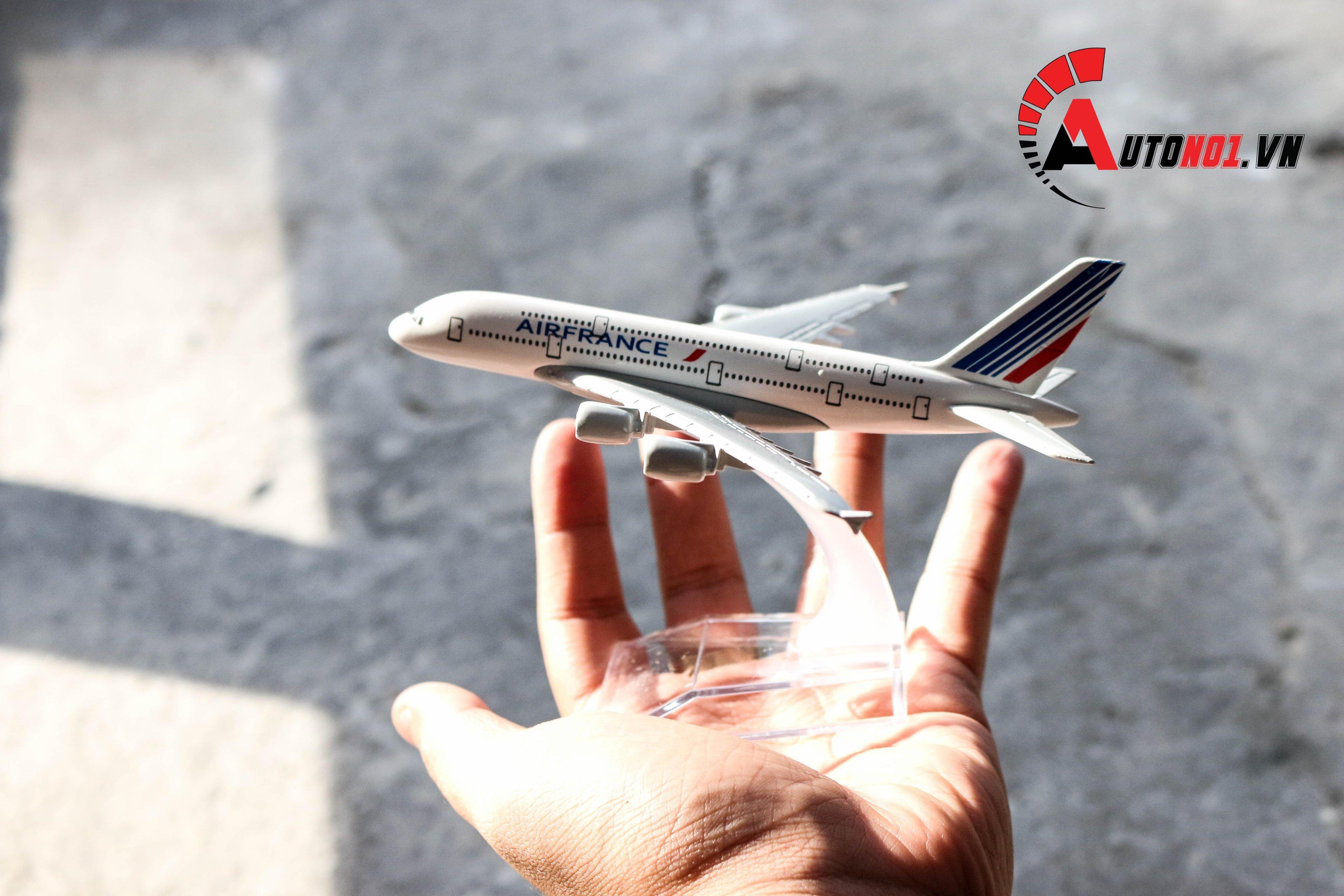 Cơ Hội Giá Tốt Để Sở Hữu MÔ HÌNH MÁY BAY AIR FRANCE A380 16 CM